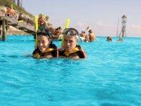 Nadar con snorkel