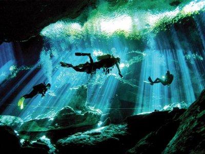 Buceo con 2 inmersiones en Cenote en Tulum  6 hr