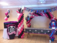 Decorated Monster high