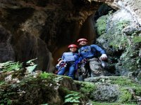 Grottoes and trails