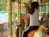 In the carrousel