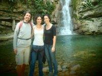 Visitando cascadas
