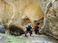 Descending to canyon