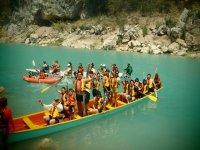 Canoas en Huasteca