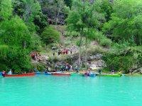 Canoa huasteca a la Cascada de Tamul
