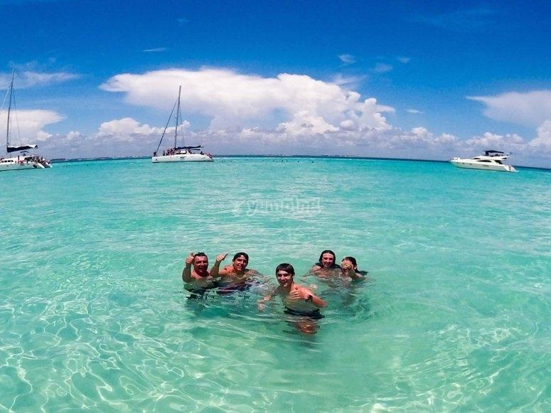 Descansando en Isla Mujeres