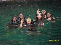 Snorkeleando un domingo