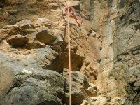 rutas en roca