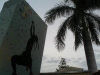 muro al aire libre