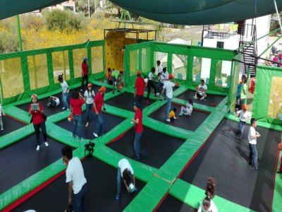 Rebooting Park Trampoline Zone
