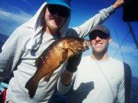 De pesca con el invitado