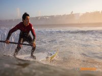 paddle surf con olas