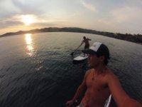 tour de paddleboard