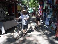 by bike through Vallarta