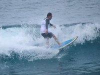 montando las mejores olas
