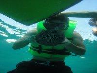 Enjoy underwater