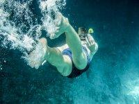 Desciende haciendo snorkel