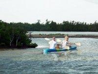 kayakeando en holbox
