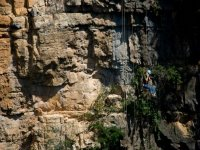 descenso con cuerdas