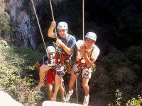 Enjoy with your friends performing Rappel