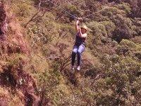 volando entre cascadas