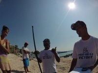 Amigos del paddle surf