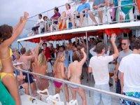 Fiestas a bordo