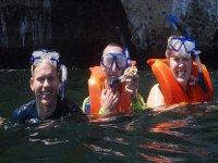Snorkeling en los arcos