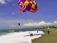 Parasail en la playa