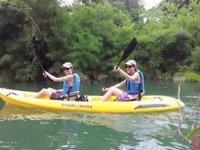 Kayaks en manglar