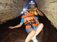 fun in the cave