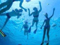 Snorkel en Punta Mita