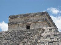 Parte superior del Castillo de Kukulcan