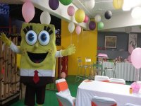 parties with spongebob
