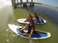 Enjoy a paddle ride