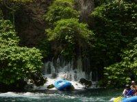 Adventure between waterfalls