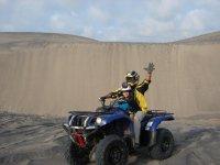 Recorrido por las dunas