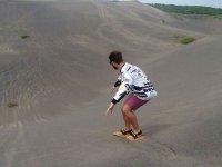 Total adventure on your sandboarding