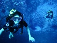 Diving with your partner
