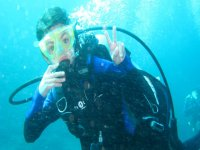 Enjoy while learning in open water
