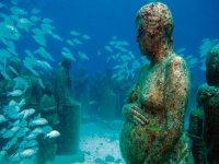 Museo de figuras en profundidad