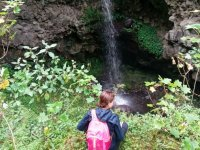 Waterfalls in the route of Santiago Ameca