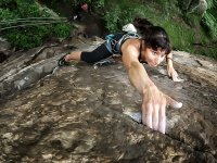 Increase in the degree of difficulty in climbing