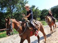 diversión sobre nuestros caballos