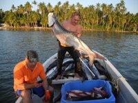 Pescando en Tabasco