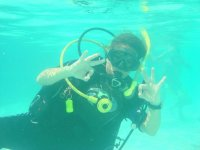 diving in sonora