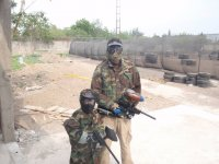 Paintball in family
