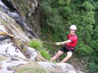 Rappelling in Tequisquiapan
