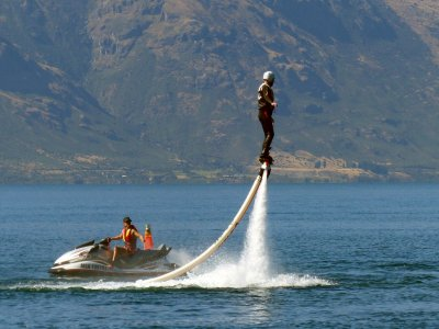 Paracaidismo Lago Flyboard