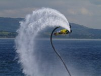 Spin doing flyboard